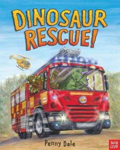 Dinosaur Rescue! by Penny Dale (book cover)