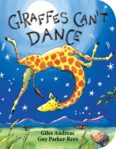 Giraffes Can't Dance (Book Cover)