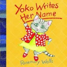 Yoko Writes Her Name Book Cover